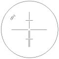 Сетка нитей теодолита 3Т2КП